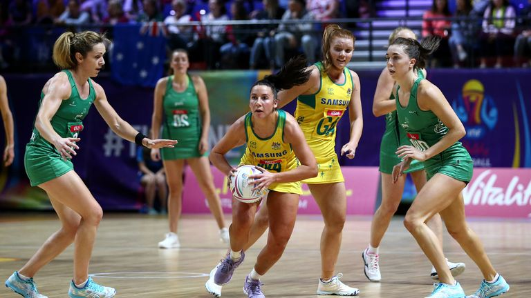 Watch the highlights of the Diamonds' comprehensive victory  over Northern Ireland