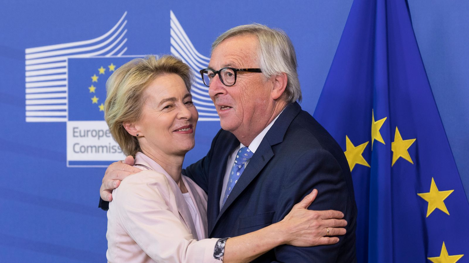 Ms von der Leyen will replace Jean-Claude Juncker if the move is approved by MEPs