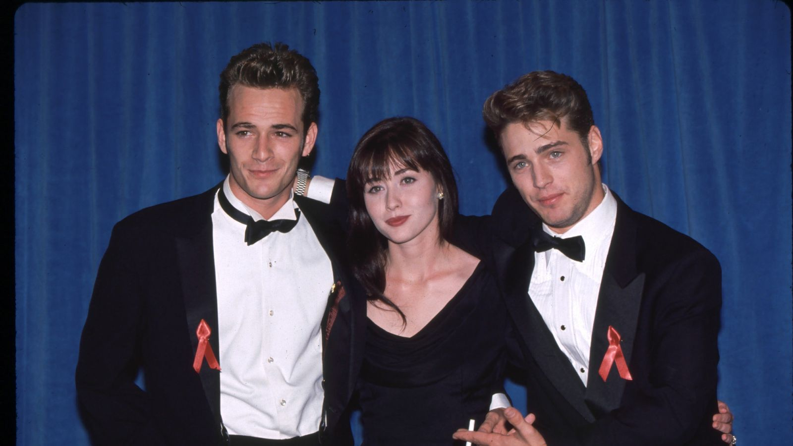 Luke Perry: Beverly Hills 90210 star Shannen Doherty to