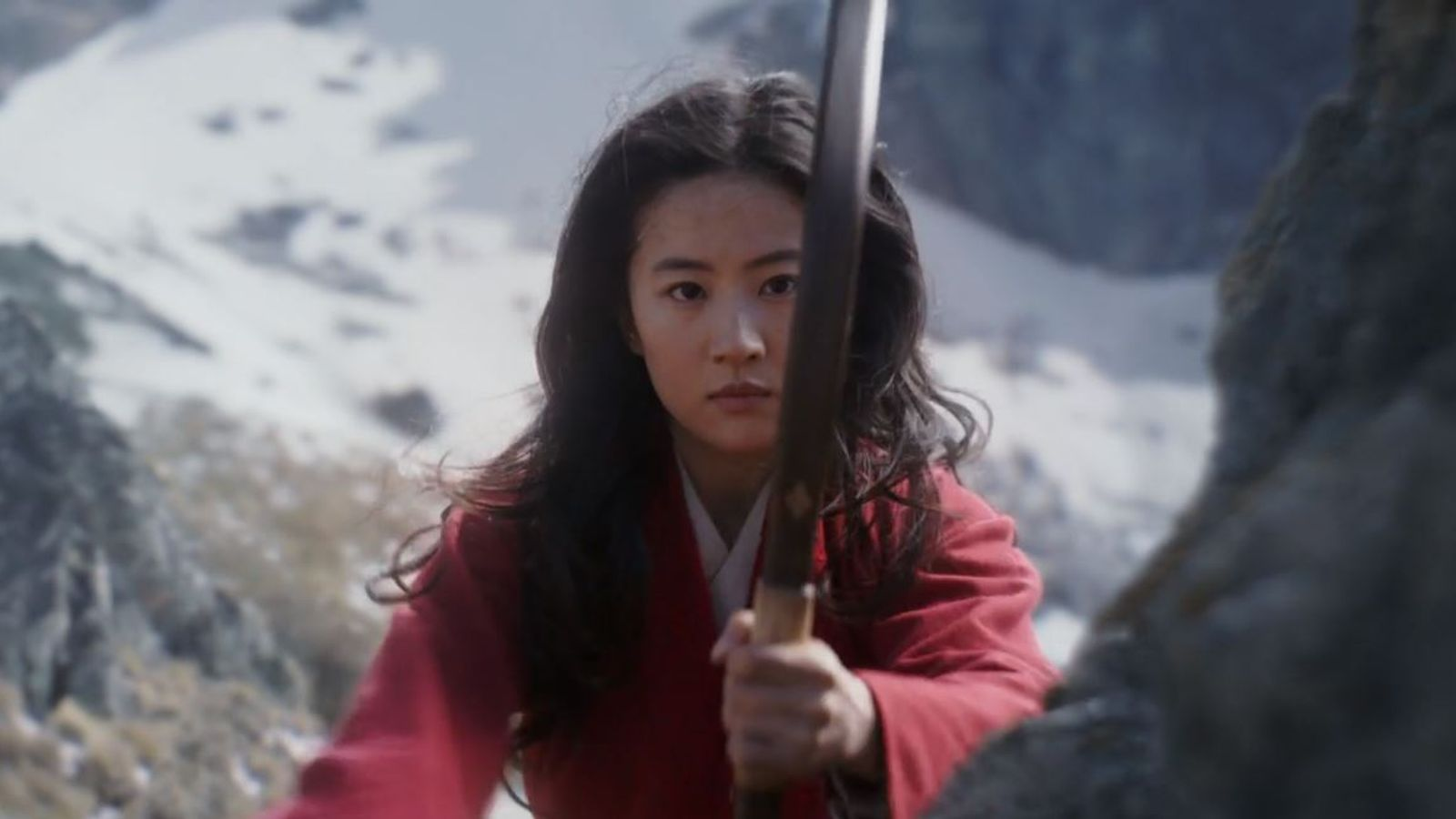 Disney Releases First New Mulan Trailer But There S No Mushu Ents Arts News Sky News