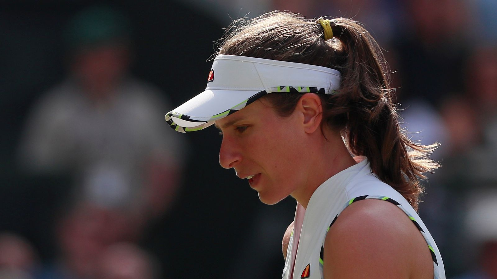 Johanna Konta: British number one out of Wimbledon after member of her team tests positive for COVID