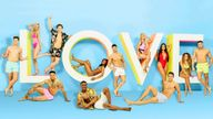 Amber Gill and Greg O'Shea have won Love Island. Pic: ITV