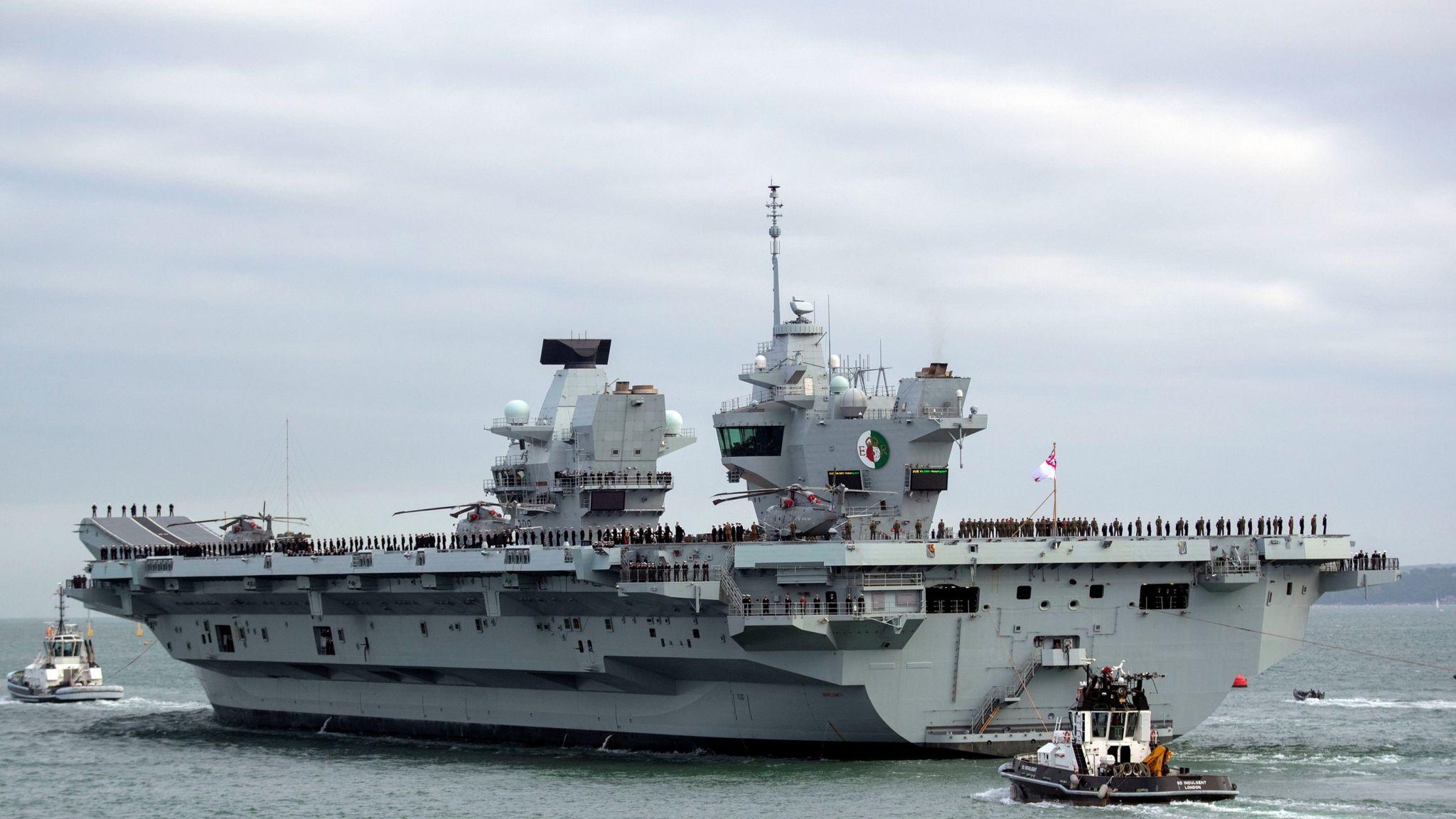 Britain's Biggest Warship – Documentary Part 3