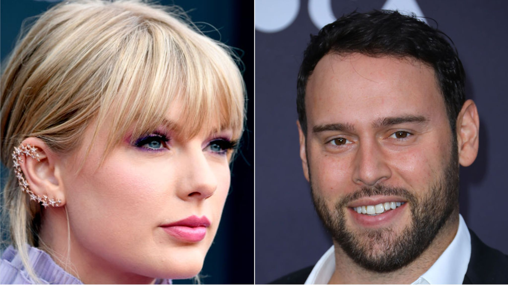 Scooter Braun denies 'malicious intent' in row with Taylor Swift