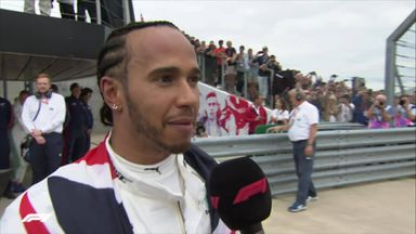 Emotional win for Hamilton