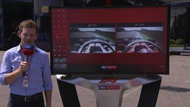 Ant analyses Merc and Ferrari