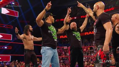 DX and The Kliq help Seth Rollins fend off The O.C.