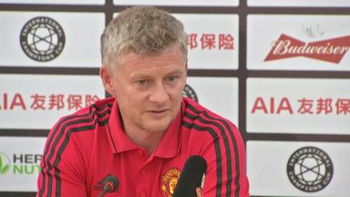 Solskjaer urges 'patience' on transfers