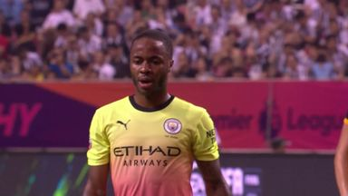 Sterling blasts penalty over!