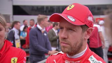 Vettel admits fault for Max collision