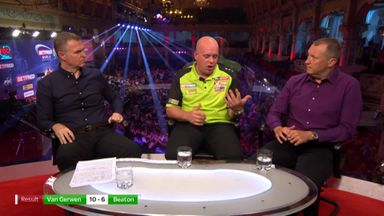 Van Gerwen: I could've done better!
