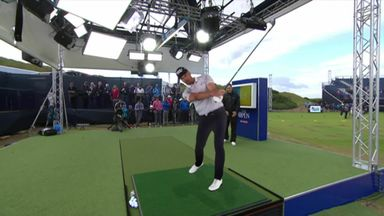 Stenson's swing from all angles