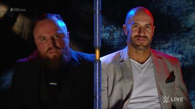 Cesaro revealed as Black's opponent