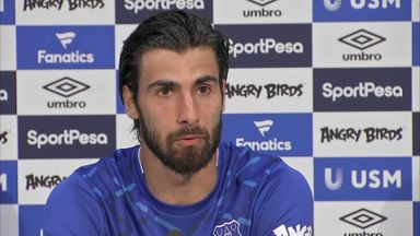 Gomes: Everton 'was love at first sight'