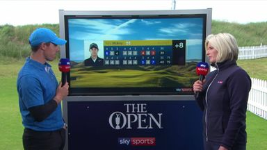 McIlroy admits nerves played a part