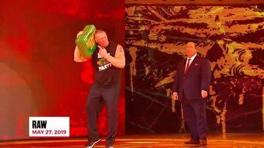 Brock Lesnar's craziest moments