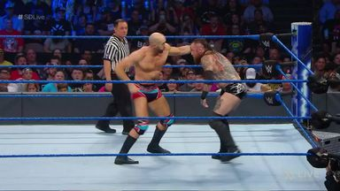 Black faces Cesaro in re-match
