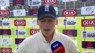 Heather Knight on Australia retaining The Ashes