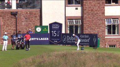 Immelman fires Scottish ace