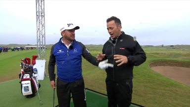 GMac with the perfect Portrush number