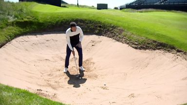 How to escape the Portrush bunkers