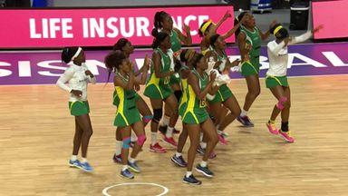 Jamaica join Zimbabwe's dancing!