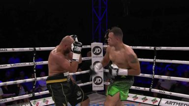 McCarthy wins in second round