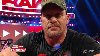 'Stone Cold' keeps the party going after Raw Reunion