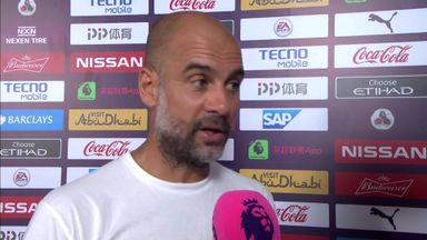 Pep proud of performance