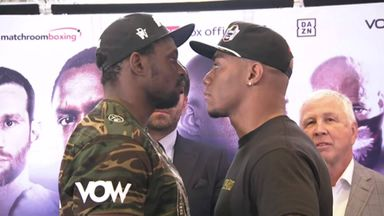 Face off: Whyte vs Rivas