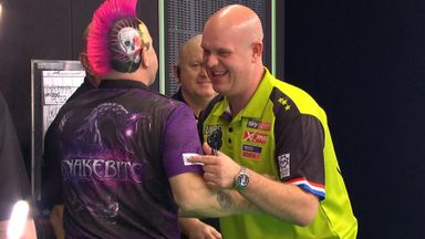 PL Darts Wk15: MVG v Peter Wright