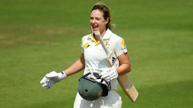 Women's Ashes Test:  Day Two