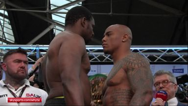 Whyte and Rivas pulled apart!