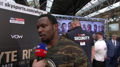 Whyte wants to 'bring pain'
