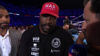 Chisora reacts to 2nd round KO!