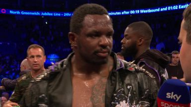 Whyte: I wanted a war!