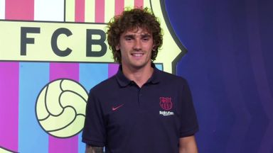 Griezmann arrives at Barcelona