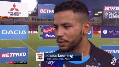 Leeming: This gives us belief
