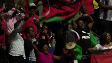 Malawi celebrate win in style!