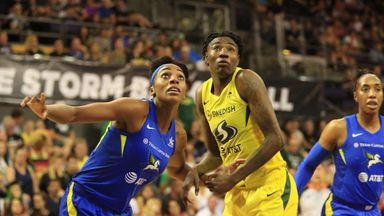 WNBA: Wings 81-95 Storm