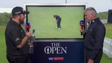 Lowry reviews win at The Open