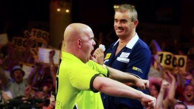 Matchplay Memories: Flintoff calls MVG's nine-darter