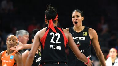 WNBA: Aces 74-71 Fever
