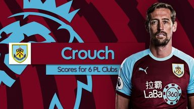 Crouch: Six goals for six PL clubs