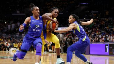 WNBA: Wings 64-69 Sparks