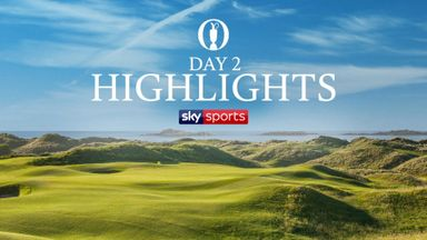 The Open: Day Two Highlights