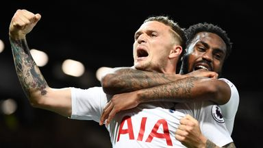 'Trippier, Rose leave Spurs gaps to fill'