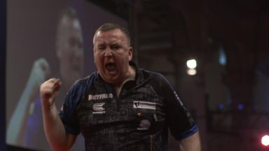 Durrant reaches semis in style!