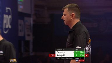 Ratajski hits 160 checkout