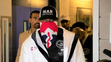Chisora the showman